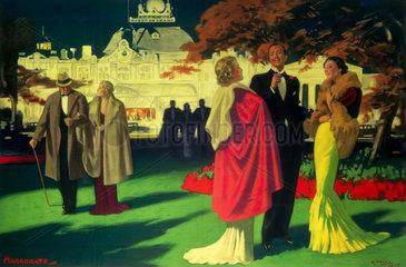 Cropped version of 'Harrogate'  LNER poster  1923-1947.
