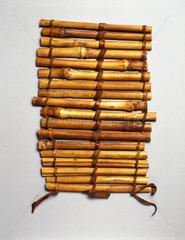 Cane splint  Nigerian  c 1871-1908.