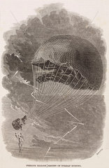 'Perilous Balloon Descent on Tuesday Evening'  1844-1884.