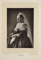 'The Queen'  1892.