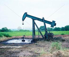Oil pumping engine  Eakring  Nottinghamshire  4 June 1981.