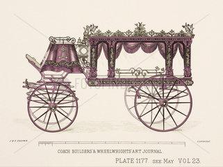 Glass hearse  c 1903.