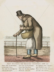 John Standing  'The Brighton Matchman'  1829.