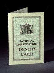 National Registration Identity Card  1951.