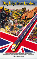 'Day Trips from London'  BR (CAS) poster  c