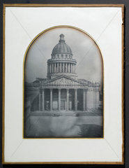 The Pantheon  Paris  1842.