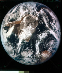 The Earth from space  late 1960s.