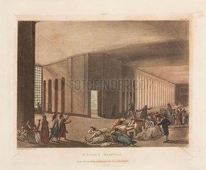 St Luke's Hospital  London  1809.