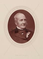 John Scott Russell  Scottish civil engineer and naval architect  c 1870s.