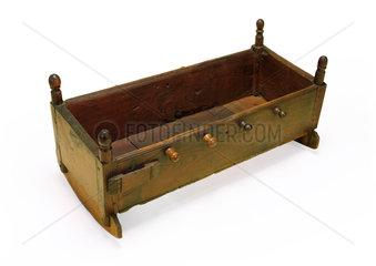 Rocking cradle  1750-1850.