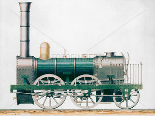 Standard 0-4-2 goods locomotive  1833.