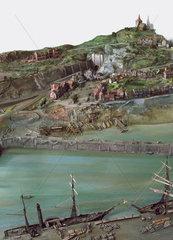 British industrial landscape  c 1865.