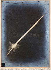 An exploding meteor  23 November 1895.