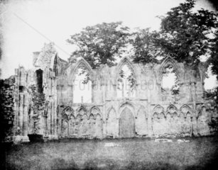 St Mary's Abbey  York. Image from the Fox T