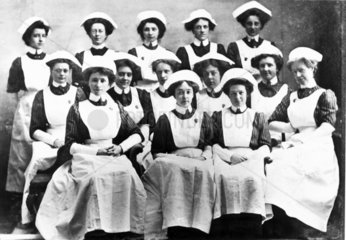 Nurses  late 19th-early 20th century.
