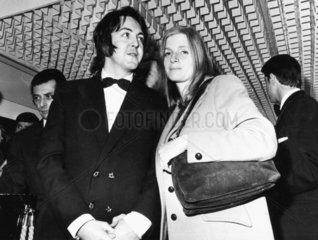 Paul and Linda McCartney  March 1969.