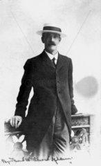 William Friese Greene  English pioneer cinematographer  c 1900.