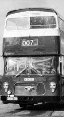New Leyland bus for Stockholm  February 1967.