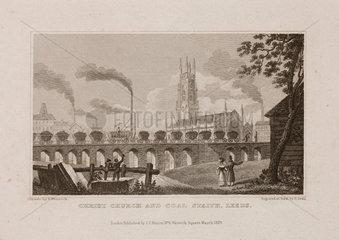 'Christ Church and Coal Staith  Leeds'  1829.