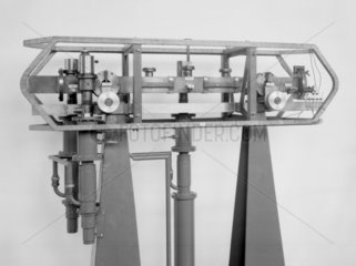 First caesium atomic clock  1955. Made by