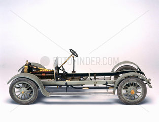 Vauxhall motor car chassis  1910.