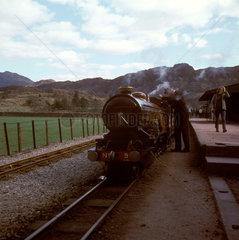 Ravenglass & Eskdale Railway  c 1974.
