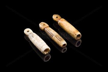 Set of divination bones  South African  1880-1920.