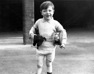 Douglas Morris  aged four  27 January 1938.