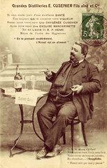 Absinthe Oxygenee Cusenier  c 1900.