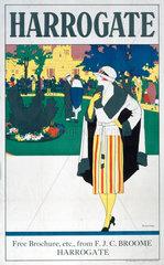 'Harrogate'  LNER poster  1923-1947.