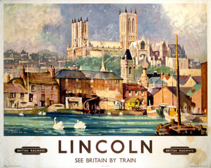 'Lincoln'  BR poster  1948-1965.