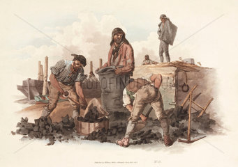 'Coal-heavers'  1805.