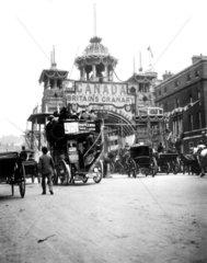 London street scene  c 1900s.