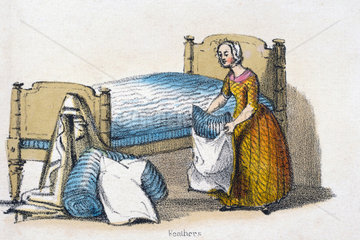 'Feathers'  c 1845.