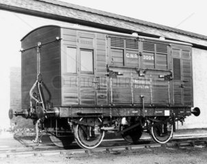 Horse box No 3004  Great Northern Railway