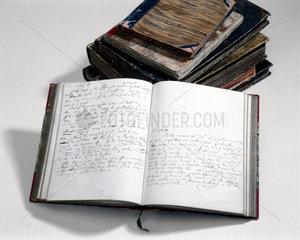 Charles Babbage's notebooks  1857.