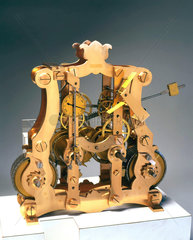 Mechanism from a turret clock  English.