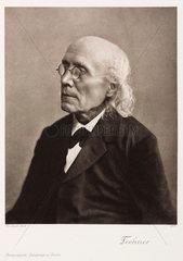 Gustav Theodor Fechner  German physicist and psychologist  c 1870s.