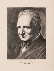 Theodore von Karman  physicist and aeronautical engineer  c 1930-1950.