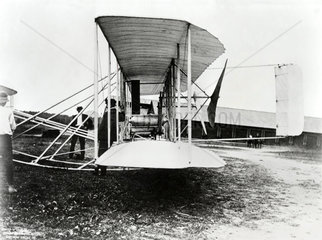 Wright Brothers' Second Signal Corps aircraft  Fort Myer  Virginia  USA  c 1910.