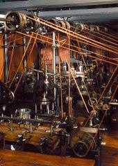 20th century model of 19th century workshop.