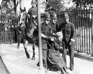 Suffragette  c 1910.