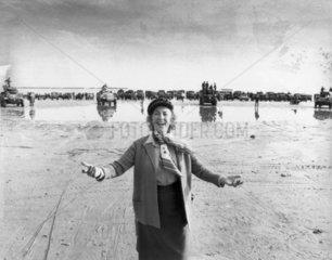 Vera Lynn  British singer  June 1984.