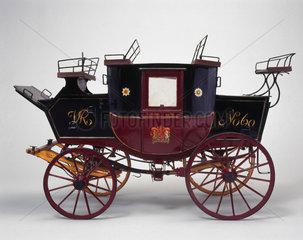 Royal Mail coach  c 1840.