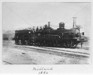Midland Railway locomotive  1850.