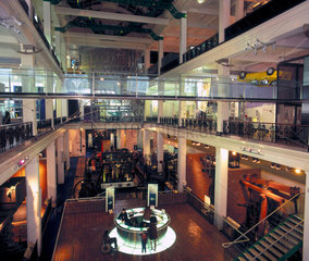 Glass bridge  Science Museum  London  1998.