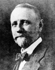 George C Blickensderfer  American designer of the Blick typewriter  c 1880s.