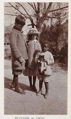 Three children  c 1910.
