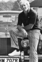 Greg Norman  Australian golfer  October 1982.
