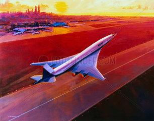Boeing high-speed civil transport concept  1994.
